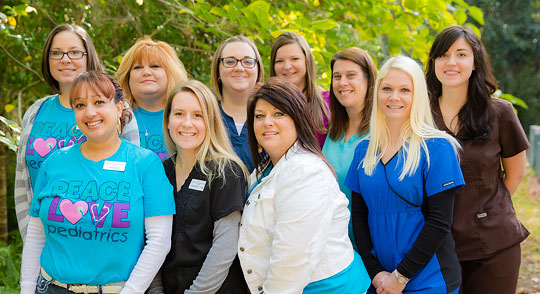 The Staff of Pediatric Associates Ocala